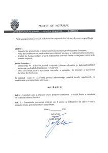Anunt_Proiect_staiune_balneo_Sinaia