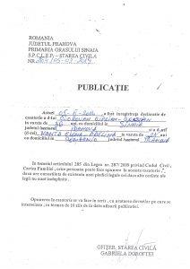 Publicatie_casatorie_Ciorovan_Ciprian_Cristian