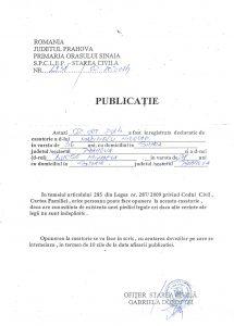 Publicatie_casatorie_Marinescu_Nicolae