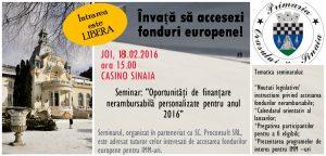 Seminar fonduri IMM